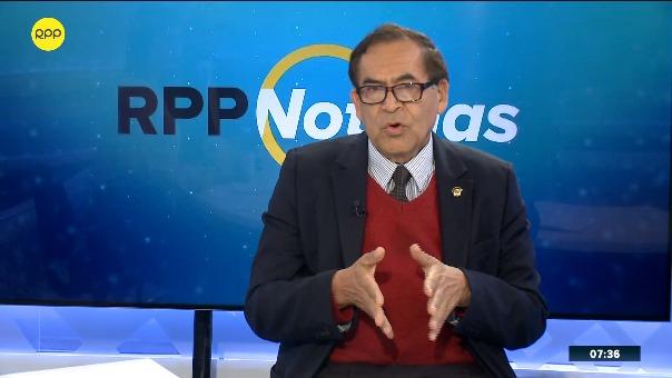 Alberto Quintanilla, congresista del Nuevo Perú.