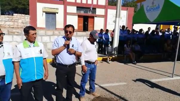 Alcalde provincial de Caravelí, Arturo Montesinos Neyra, pide a los venezolanos que se vayan del pueblo.