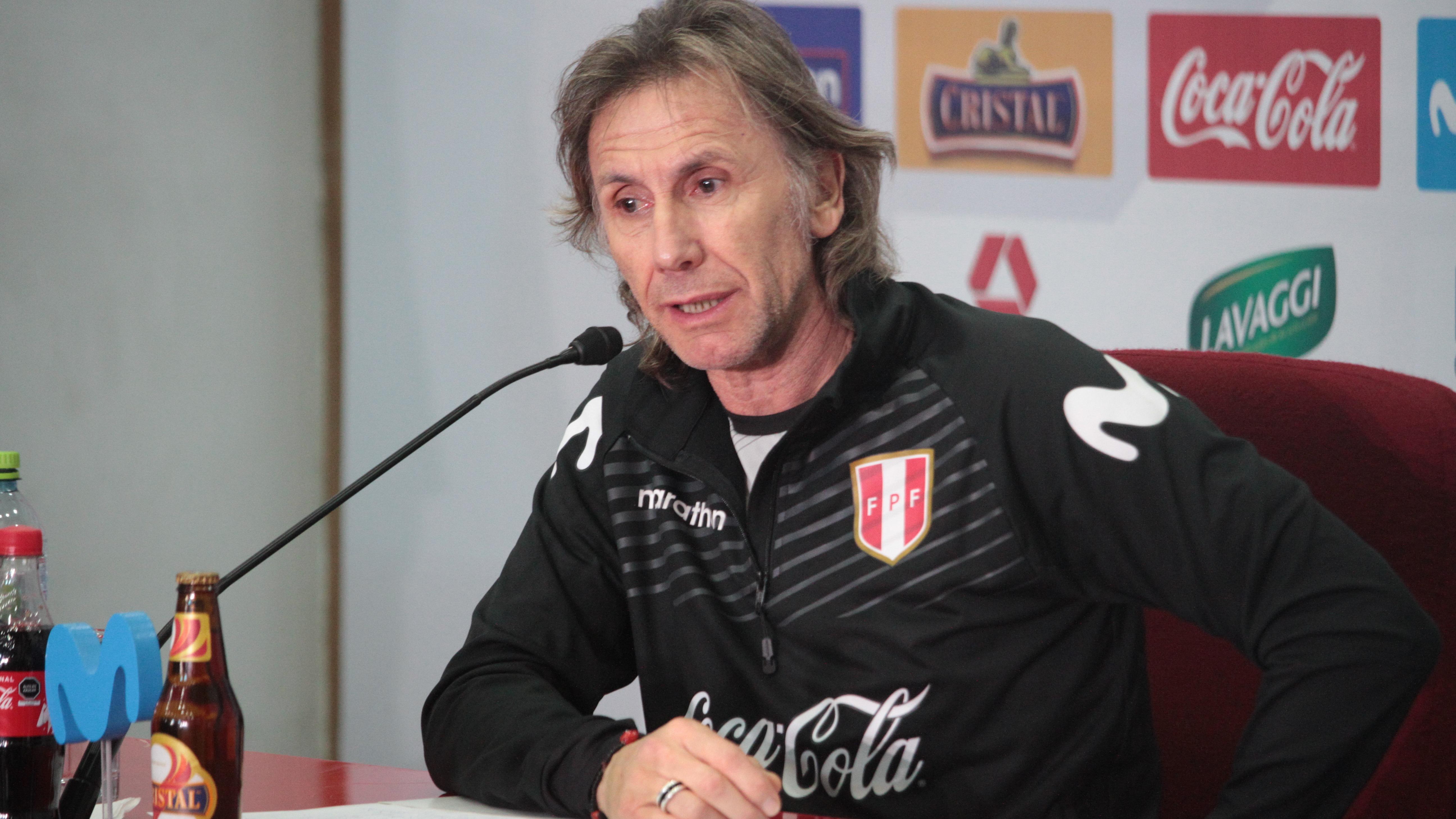 Ricardo Gareca defendió a Christian Cueva