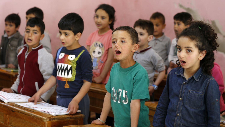 Sus más de 6.000 habitantes se han ido durante la guerra y sólo han vuelto 2.000. Los otros se han refugiado en Damasco y alrededores o han huido al extranjero.
