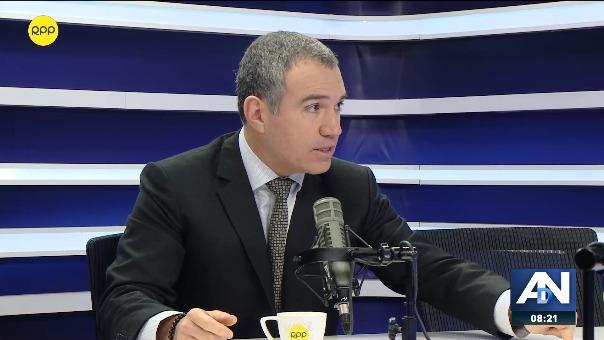 Salvador del Solar, jefe del Gabinete Ministerial, en RPP Noticias.