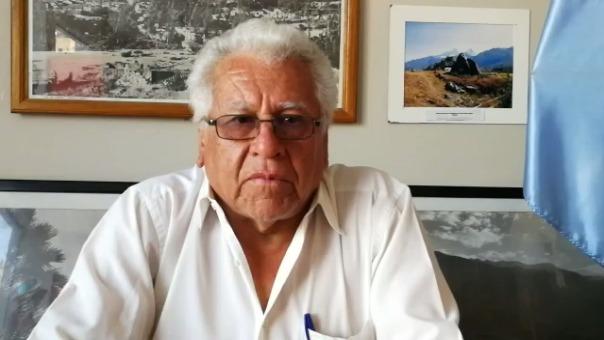 Javier León León recordó lo ocurrido el 31 de mayo de 1970.