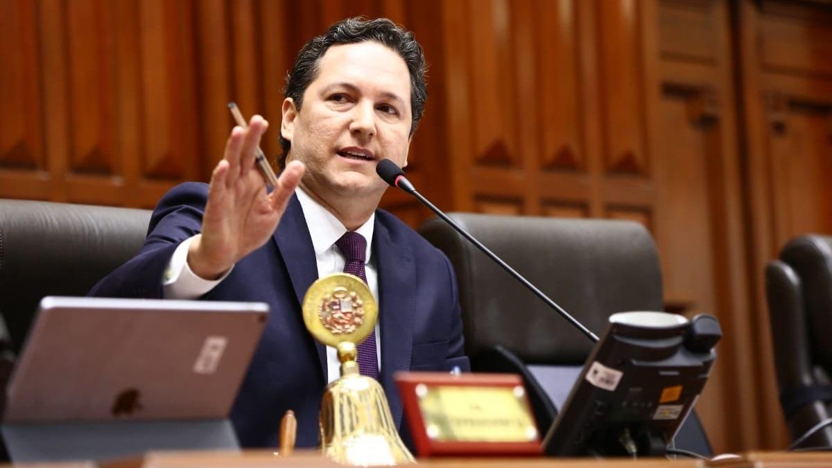 Daniel Salaverry, presidente del Congreso.