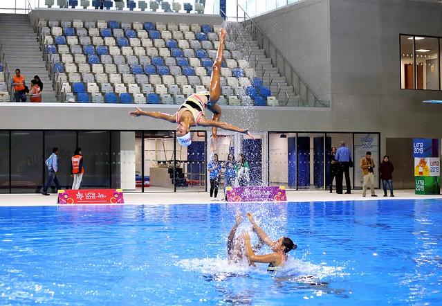 473663d12203 Lima 2019: Entregan moderno Centro Acuático para competencias de ...