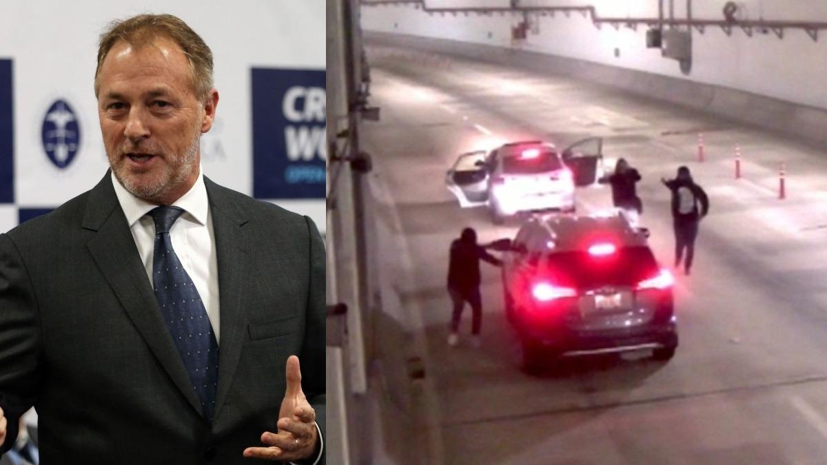 El alcalde señaló que están evaluando las medidas de seguridad a tomar en este túnel.