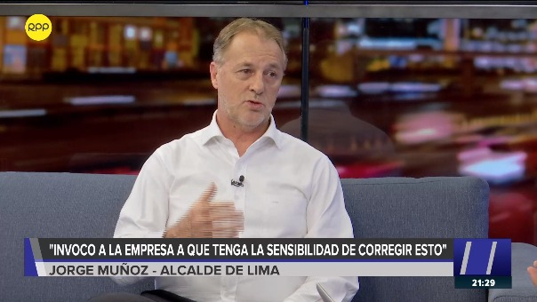 Jorge Muñoz en Nada Está Dicho en RPP.