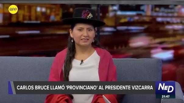 Tania Pariona es legisladora de la bancada de Nuevo Perú por la región Ayacucho.