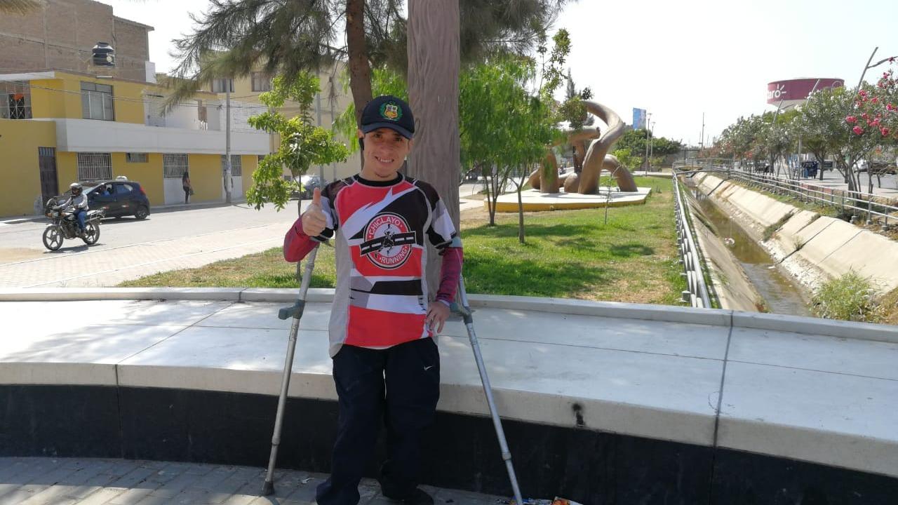 Rogger Flores Tessen, atleta chiclayano