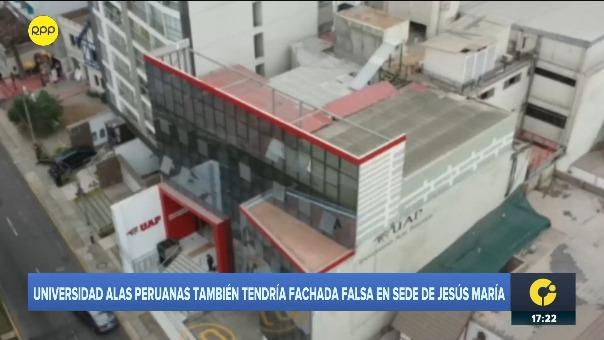 José Eduardo Castillo, presidente ejecutivo de la Universidad Alas Peruanas, se pronunció por presunta fachada en sede del centro de estudios en Jesús María.