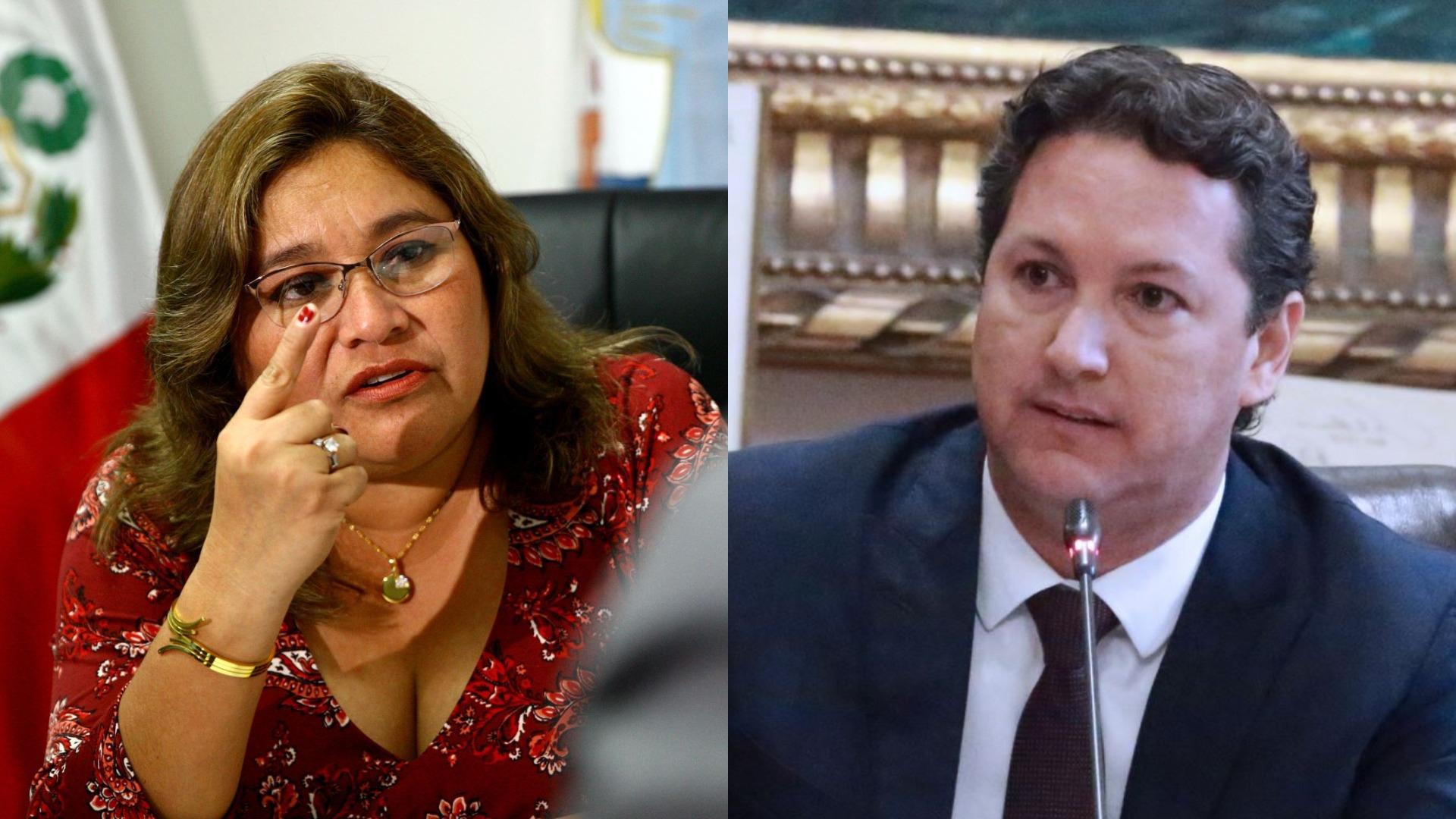 Janet Sánchez precisó que el caso de Daniel Salaverry ya tiene seis meses de investigación en la Comisión de Ética.