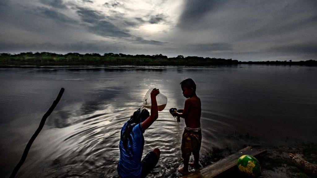 Cuninico, una comunidad nativa kukama kukamiria perteneciente al distrito de Urarinas, en Loreto.
