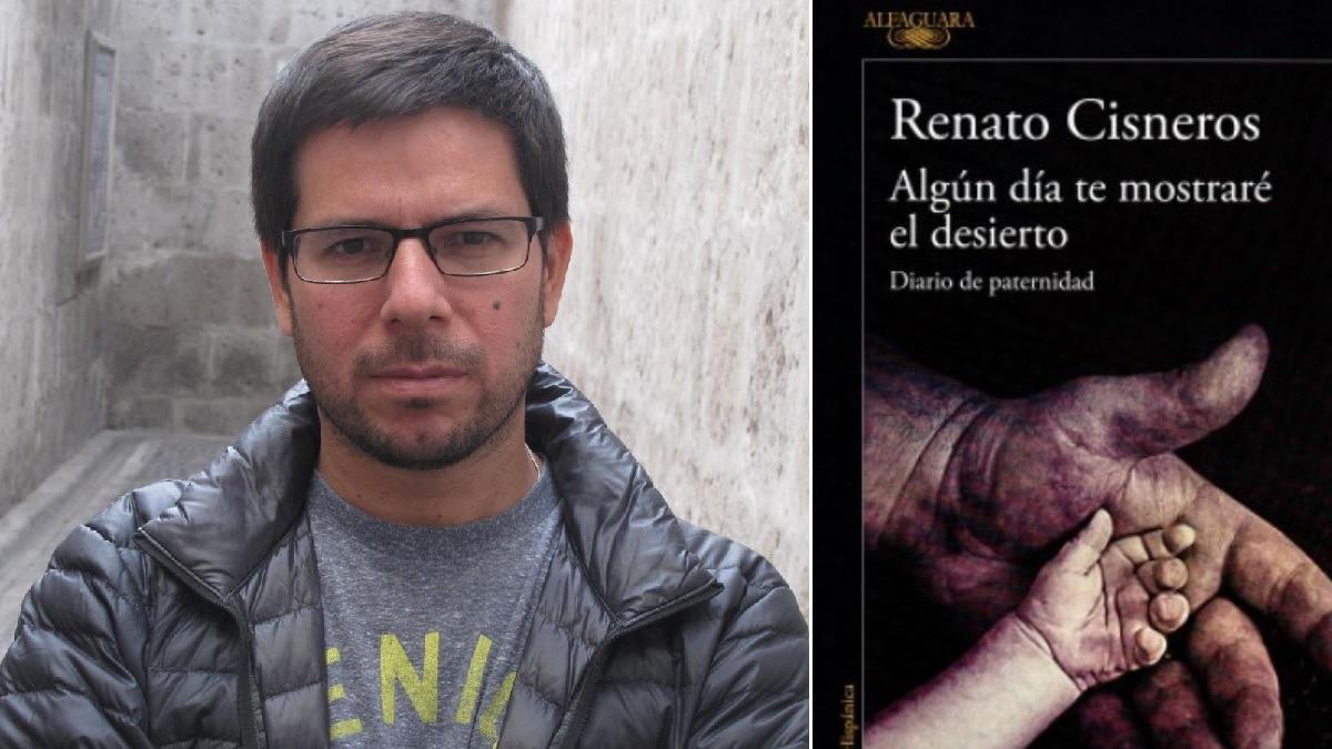 Renato Cisneros presentó su nueva obra considerada un diario de paternidad.