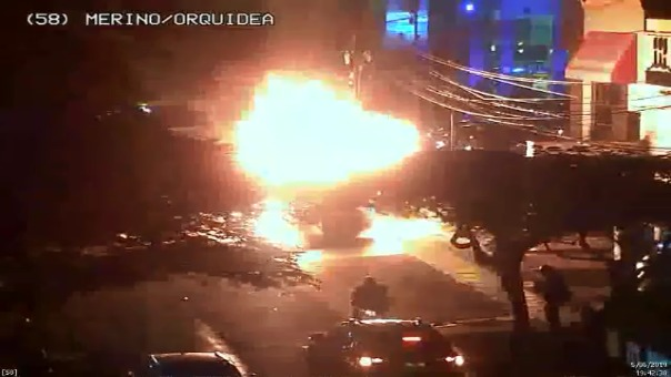 La motocicleta lineal se prendió en llamas el pasado miércoles.