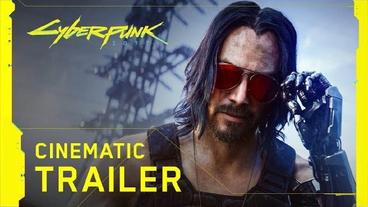 Keanu Reeven en Cyberpunk 2077.
