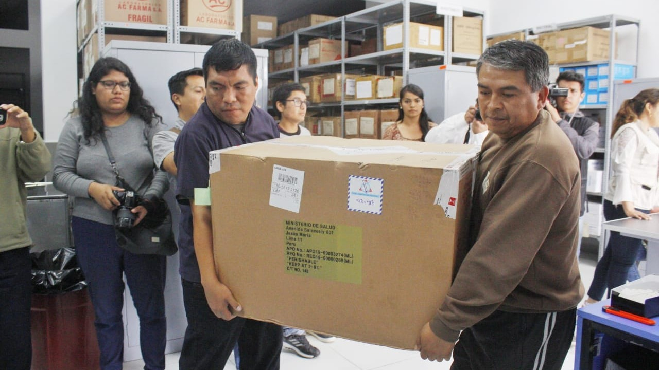 Los medicamentos fueron distribuidos en los hospitales Regional y Belén.