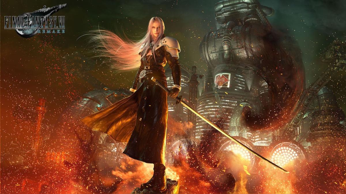 Sephiroth, antagonista de Final Fantasy 7.