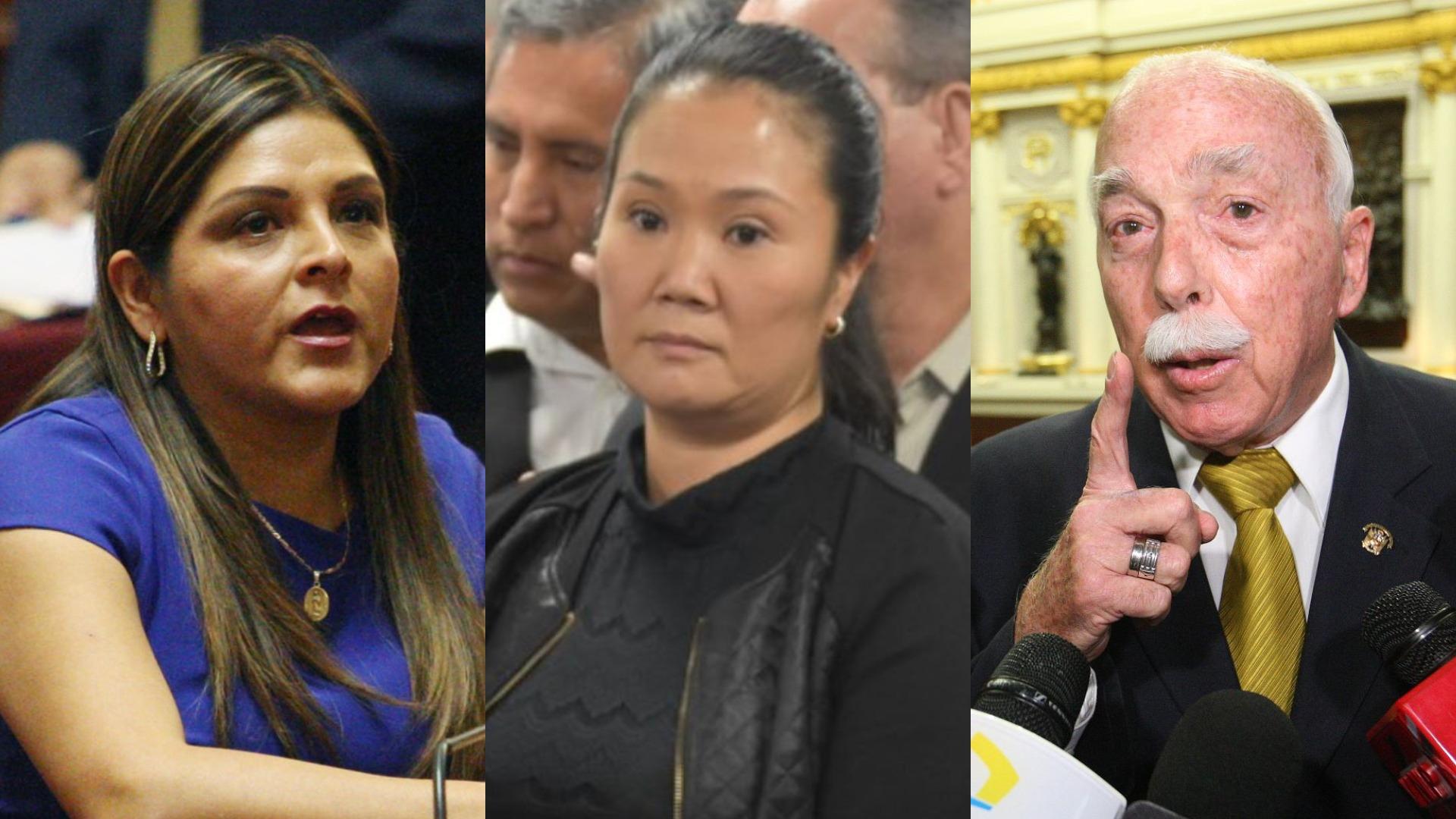 Carlos Tubino y Karina Beteta cuestionaron la difusión de un audio entre el juez supremo Aldo Figueroa y Walter Ríos.