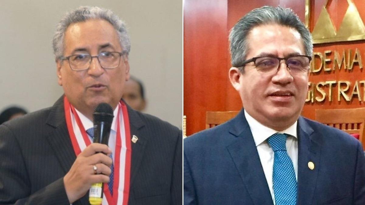 José Luis Lecaros, presidente del Poder Judicial.