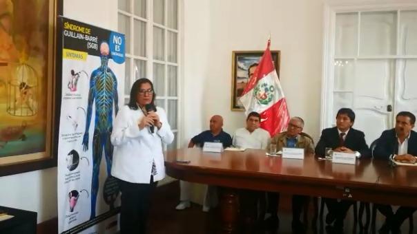 La epidemióloga Ana María Burga confirmó que a la fecha hay 31 casos confirmados de Guillain Barré en La Libertad.