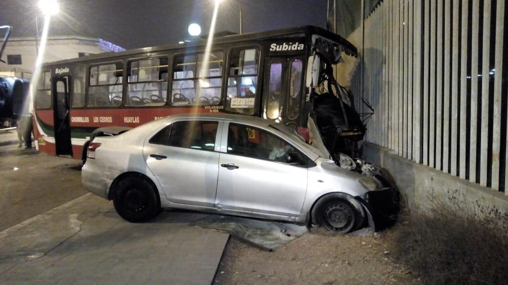 Accidente en Chorrillos dejó un muerto.