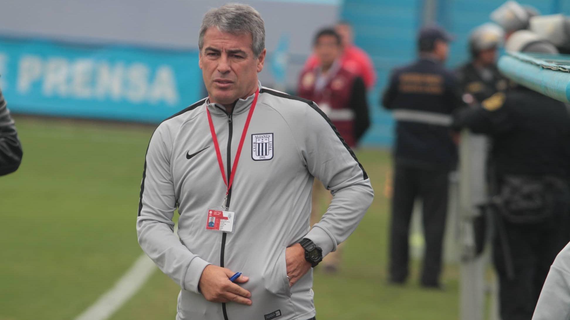 Pablo Bengoechea fue campeón nacional con Alianza Lima en el 2017.