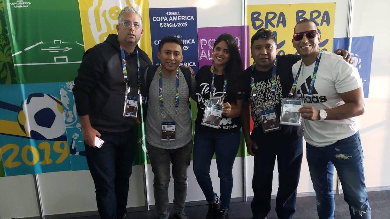 RPP Deportes ya se encuentra en Brasil para llevarte la mejor información de la Copa América 2019