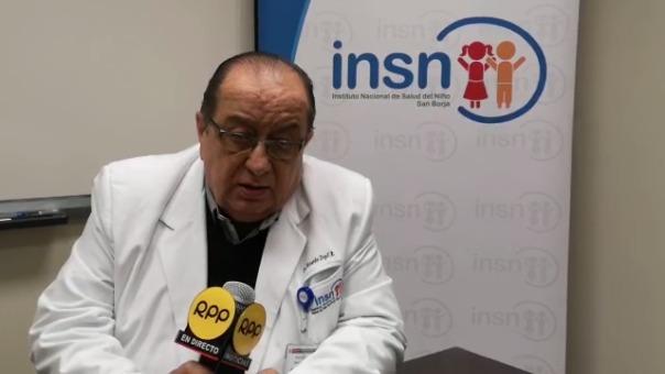 Doctor Ricardo Zopfi Rubio, director del INSN San Borja.