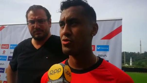 Renato Tapia asoma como titular para el debut en la Copa América.