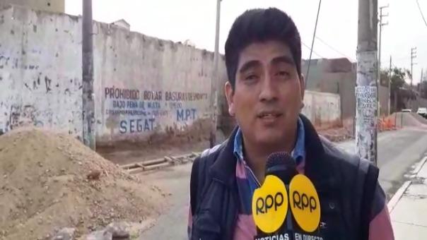 Julio Ramírez, alcalde vecinal de La Intendencia-El Molino