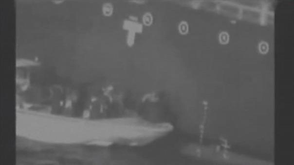 El video presentado por EE.UU. para culpar a Irán del ataque.