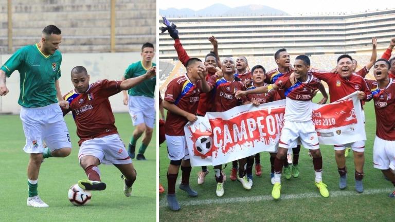 La victoria fue para los internos del penal de Chincha que representaron a Venezuela.