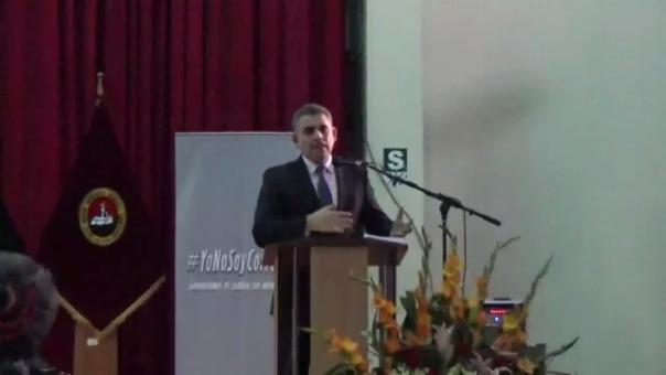Rafael Vela, coordinador del Equipo Especial.