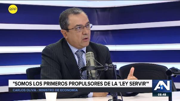 Ministro proyecta el crecimiento de la economía para este año.