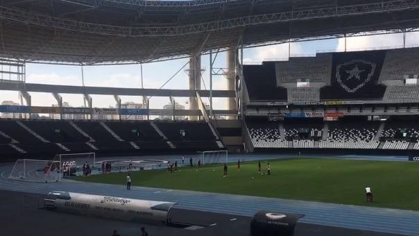 El estadio Nilson Santos, donde el club Botafogo juega de local.
