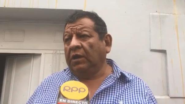 Alcalde, Benigno Cornejo, cuenta que le robaron sus regalos por el Día del Padre.