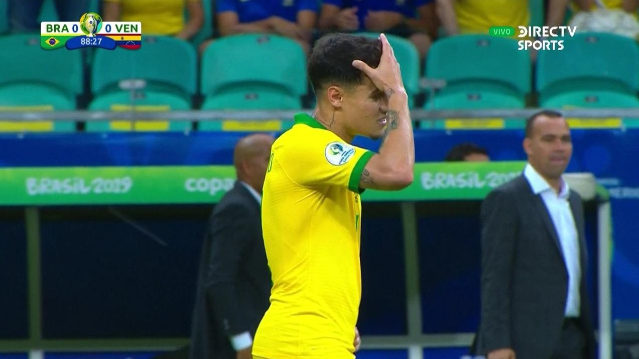 El VAR anuló dos goles a Brasil.