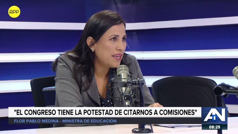 Flor Pablo estuvo esta mañana en Ampliación de Noticias.