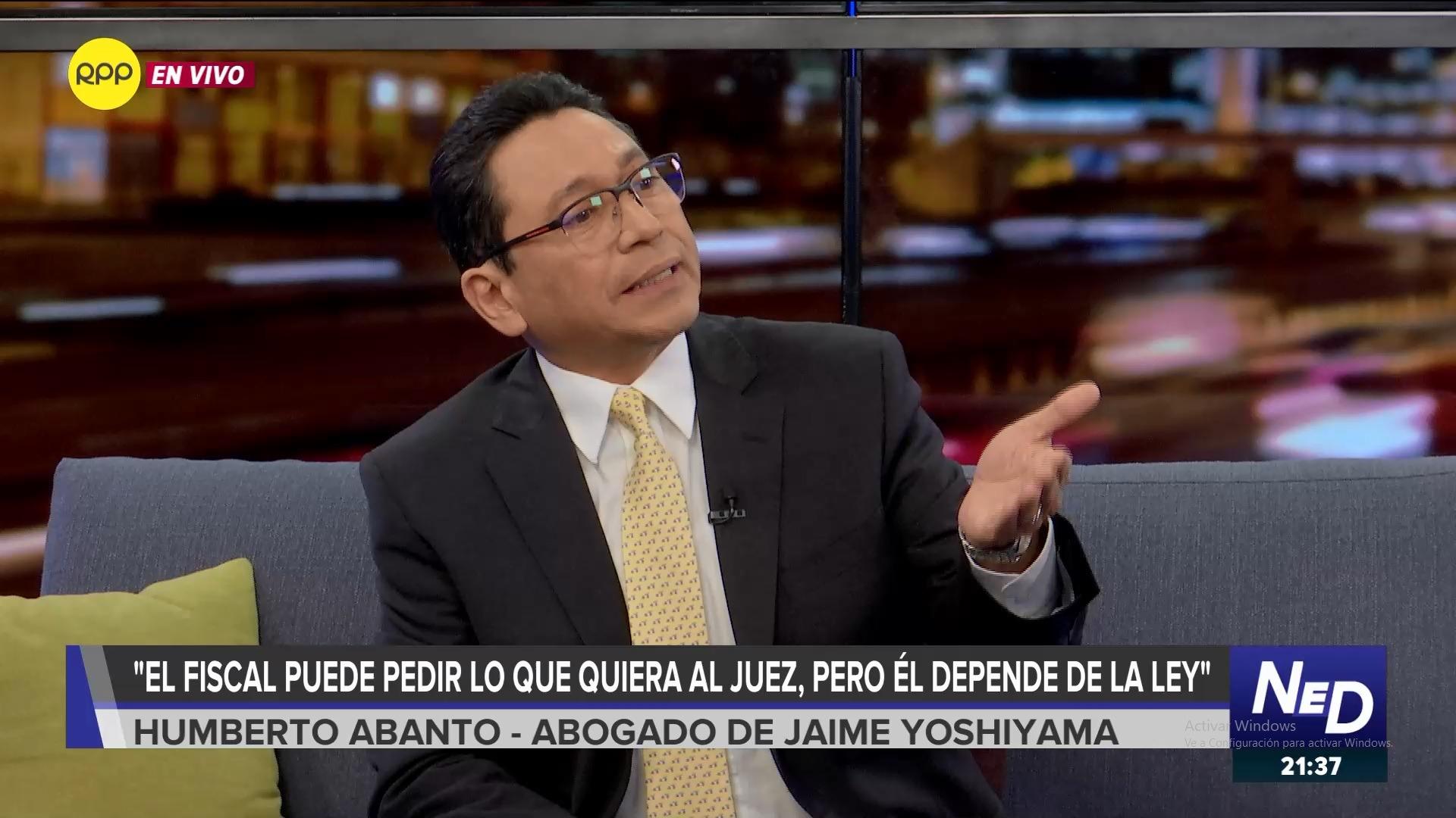 El abogado de Yoshiyama se pronunció sobre las declaraciones del fiscal Pérez Gómez.