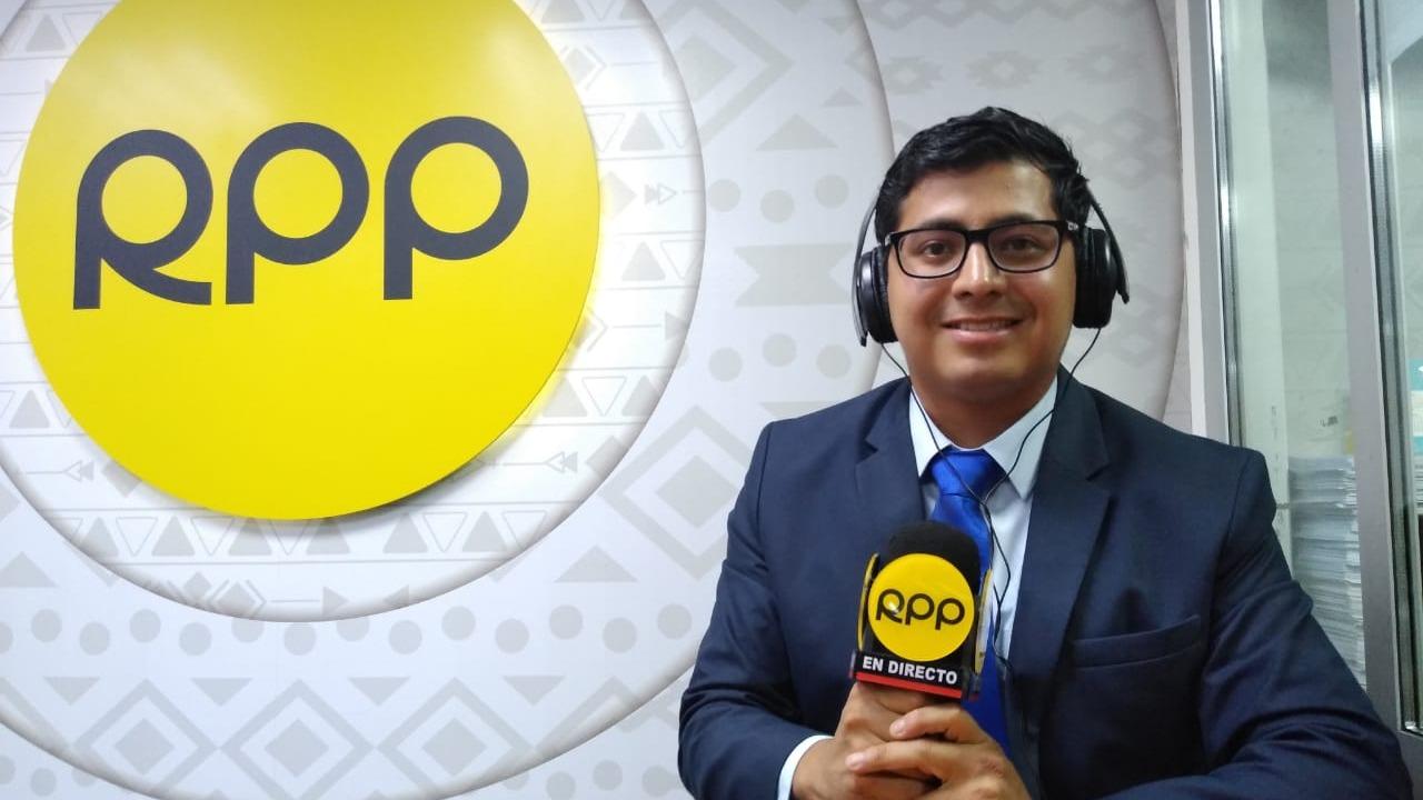Jehofred Sulca, narrador del Grupo RPP.