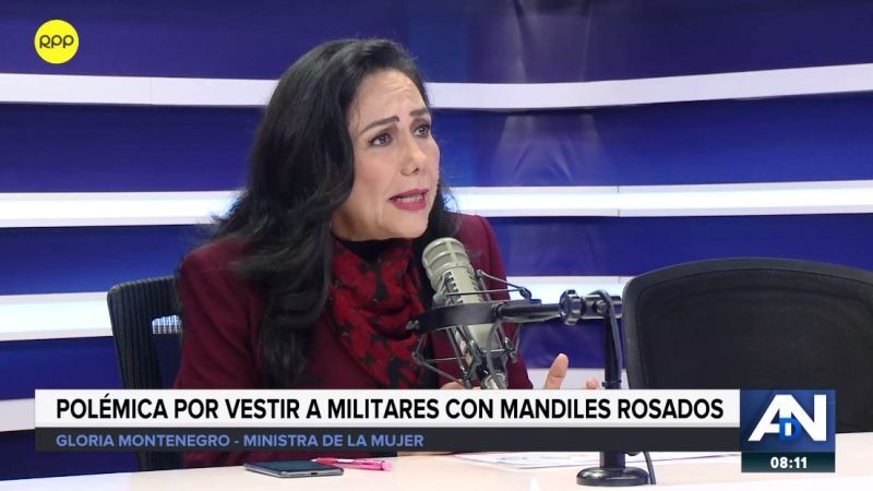 Gloria Montenegro estuvo esta mañana en Ampliación de Noticias.