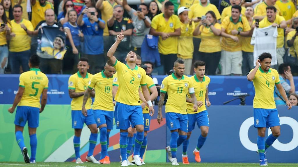 Brasil 5-0 Perú por la Copa América 2019