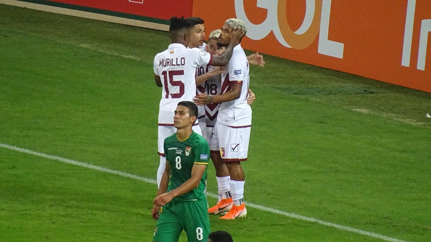 Así fue el tercer gol con el que Venezuela selló su pase a cuartos de final.