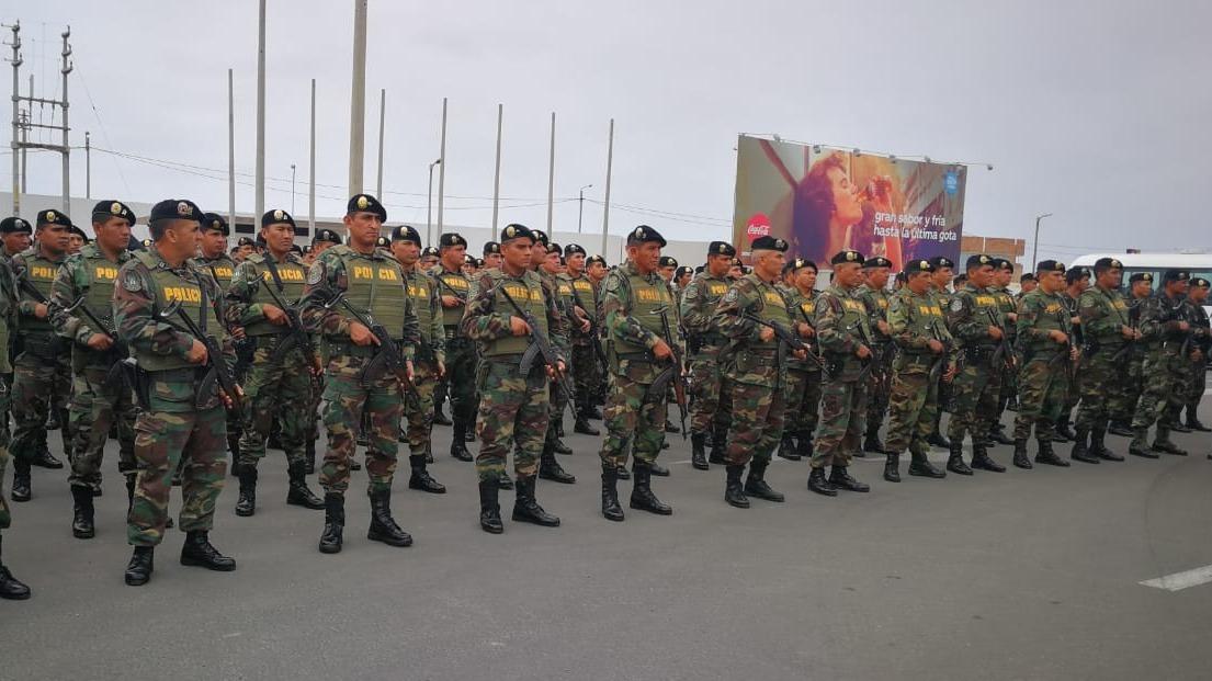 Los policías resguardarán durante los Juegos Panamericanos Lima 2019.