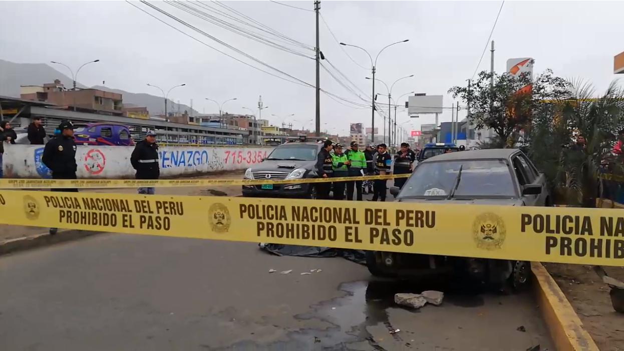 El incidente se produjo a la altura de la estación Independencia del Metropolitano.