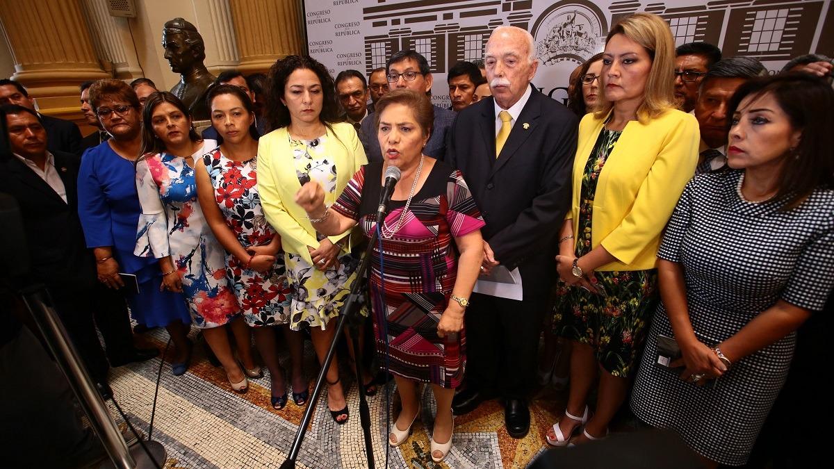 Fuerza Popular buscaría recuperar la presidencia del Congreso.