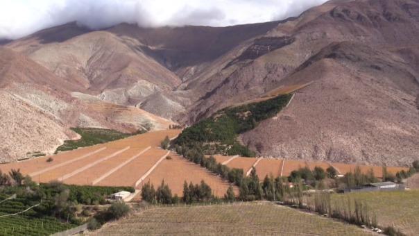 Así es el Valle de Elqui en la región de Coquimbo (Chile).