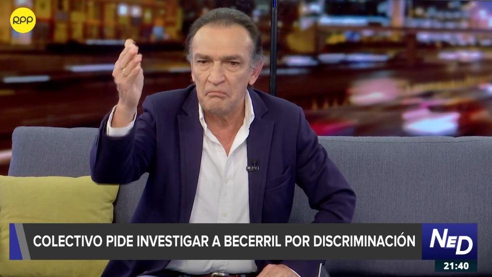 Héctor Becerril afirmó que responderá a la denuncia interpuesta en la Fiscalía por discriminar a personas por su orientación sexual.
