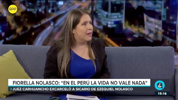 La congresista Yeni Vilcatoma hizo un pedido público al juez Richard Concepción Carhuancho.