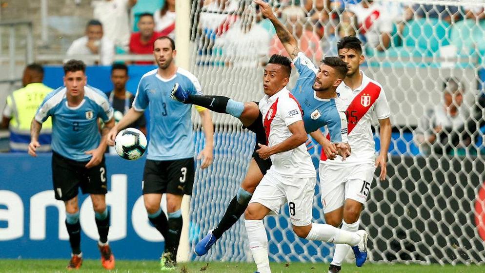 Esto dijo Christian Cueva tras no ser elegido para la tanda de penales en el Perú vs. Uruguay.