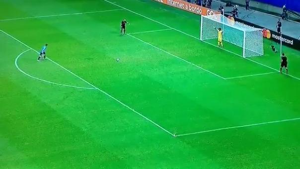 Luis Suárez falló en su disparo desde los 12 pasos.